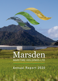 Annual Report 2020 cover