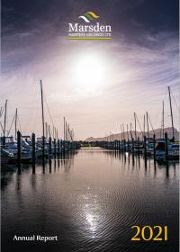 Annual Report 2021 cover